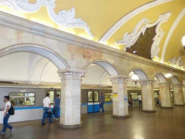 Метро в больших городах России