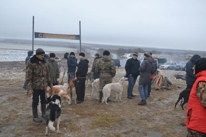 Праздник русской псовой охоты Отъезжее поле в Данкове