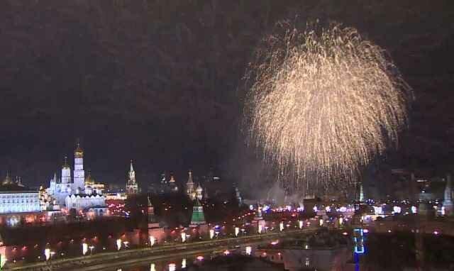 Как встретили Новый 2018 год города России и мира