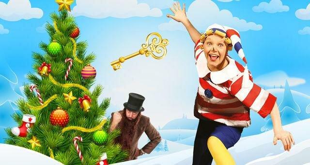 Новогоднее шоу «Новогодние приключения Буратино»