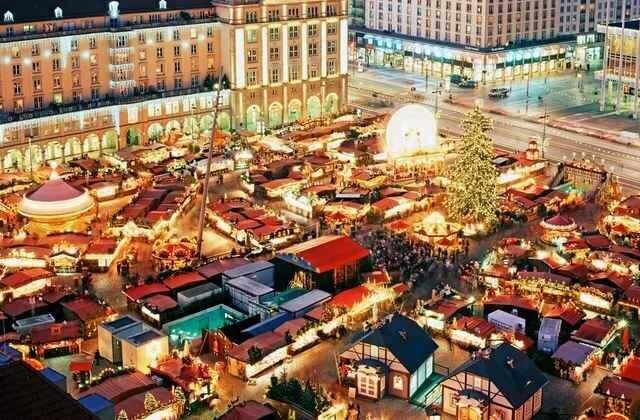 Лучшие рождественские рынки в Европе