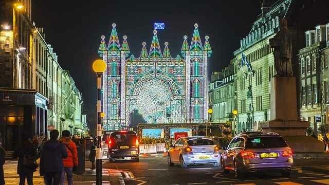 Новогодняя ночь в Эдинбурге