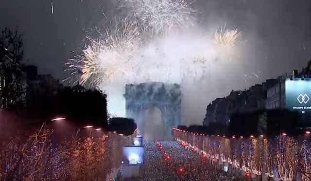 Новогодняя ночь в Париже 2018