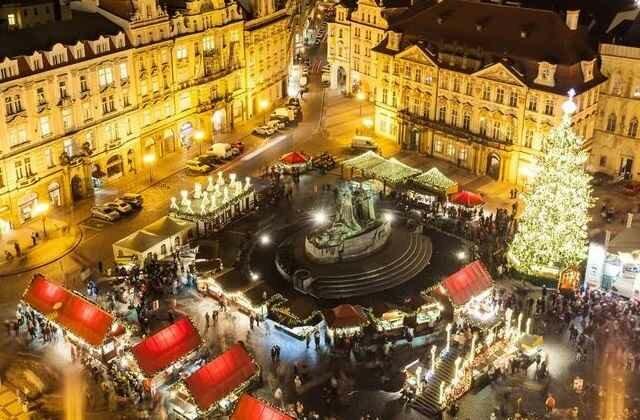 Лучшие рождественские рынки в Европе продолжает Прага: Чехия