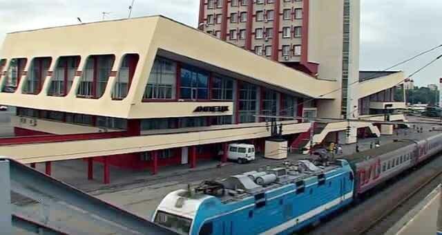 Город Липецк: Железнодорожный вокзал