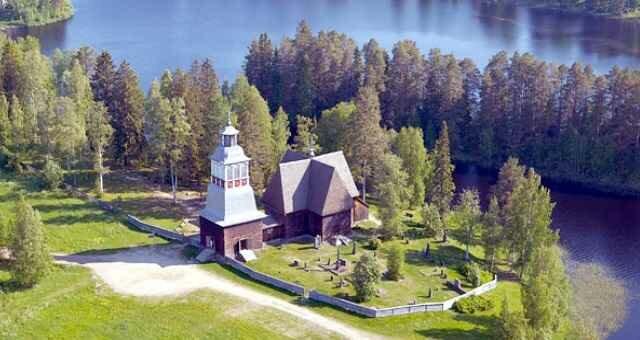 Старая церковь Петайявеси