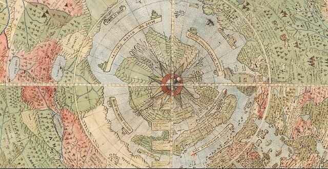 Самая старая карта мира оцифрована и доступна всем