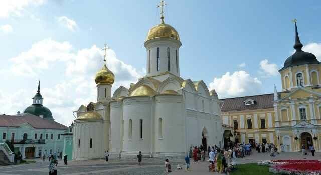 История Сергиева Посада и его Троице-Сергиева монастыря