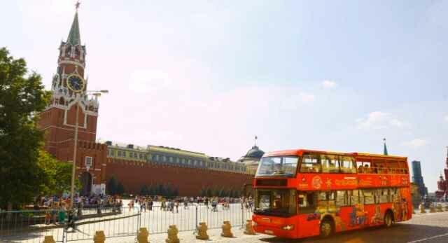 Hop On Hop Off экскурсионные автобусы появились в России