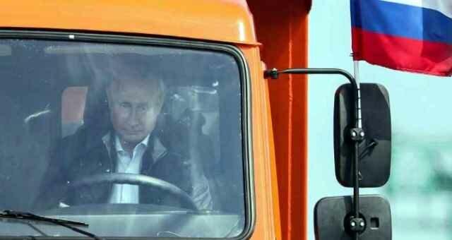 Движение по Крымскому мосту отрыт