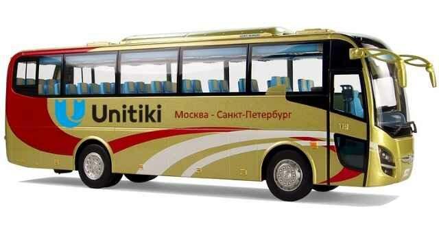 Билеты на автобус Москва Санкт-Петербург
