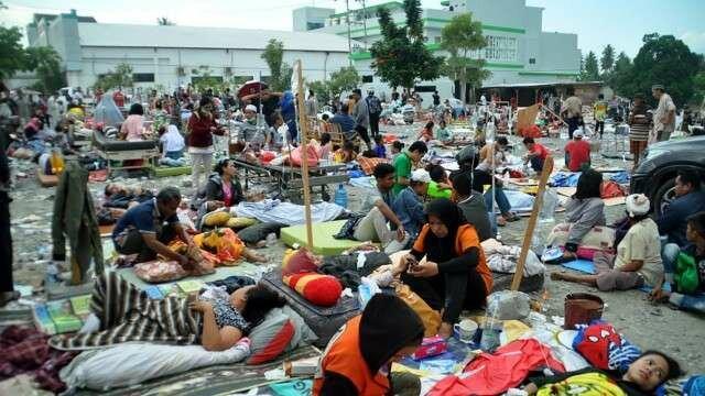В Индонезии сильное землетрясение: Цунами в Индонезии и землетрясение на Сулавеси