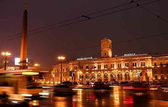 Расписание поездов Санкт-Петербург Москва
