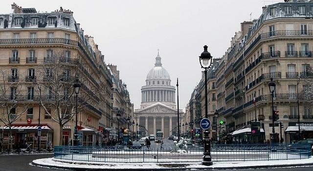 Рестораны в Париже на Новый год