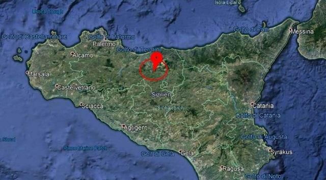 Землетрясение на Сицилии