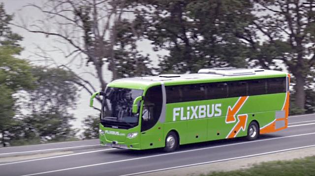 Забронировать билет на автобус в Европе через интернет