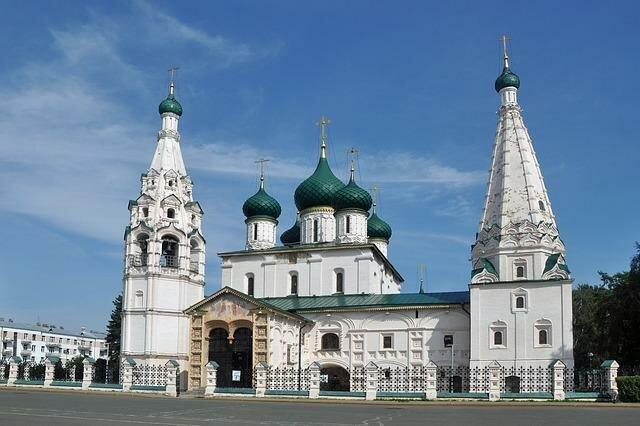 Городские экскурсии по Ярославлю
