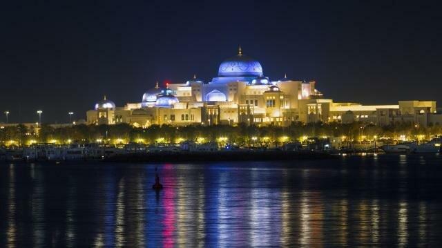 Дворец в ОАЭ