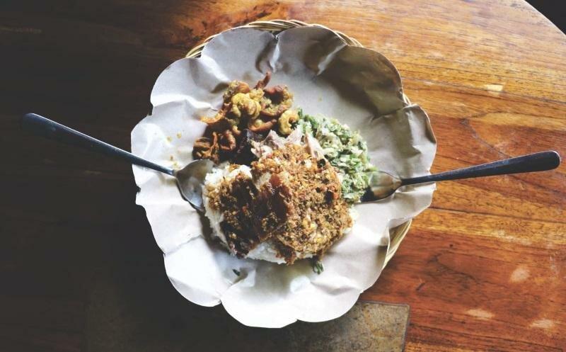 Баби гулинг еда Бали