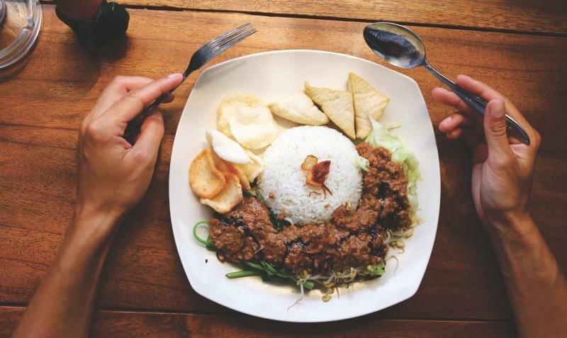 Типичная еда на Бали