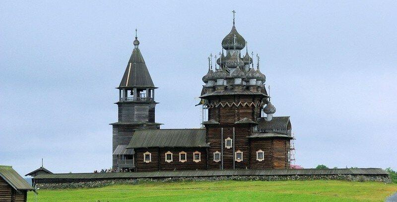Карелия остров Кижи Россия