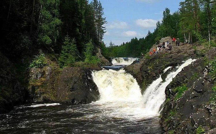 Водопад Карелия