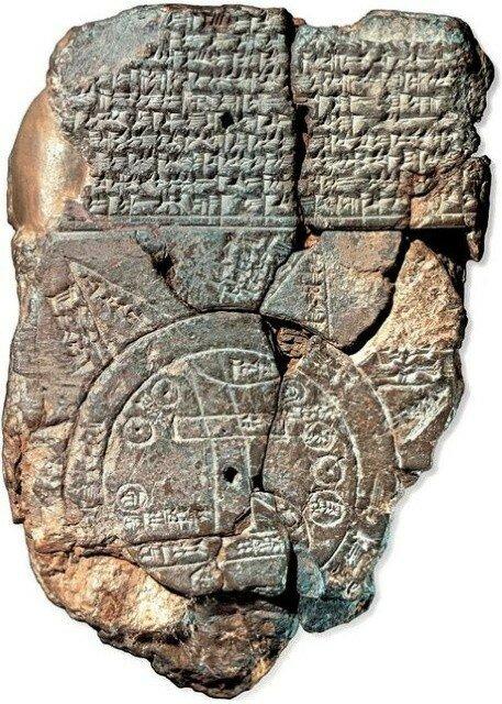 Древняя вавилонская карта