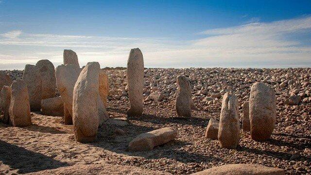 Древний мегалит Испанский Стоунхендж дольмен де Гуадальпераль